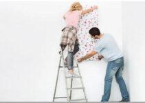 Cara Memasang Wallpaper Sticker Dinding Sendiri