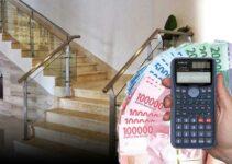 Harga Railing Tangga Kaca Minimalis Per Meter