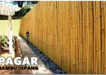 Cara Membuat Pagar Dari Bambu Yang Unik Dan Sederhana